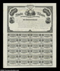 Confederate Notes:Group Lots, State of Texas Bond $1000 1867 Criswell UNL
