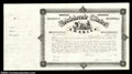 Confederate Notes:Group Lots, Ball T-342 1864 Confederate Bond. An unissued certificate ...