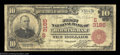 National Bank Notes:Alabama, Birmingham, AL - $10 1902 Red Seal Fr. 613 The First NB