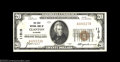 National Bank Notes:Alabama, Clanton, AL - $20 1929 Ty. 1 The First NB Ch. # 11515