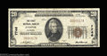 National Bank Notes:Alabama, Jasper, AL - $20 1929 Ty. 1 The First NB Ch. # 7746