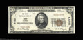 National Bank Notes:Alabama, Opp, AL - $20 1929 Ty. 1 The First NB Ch. # 7985