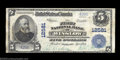 Winslow, AZ - $5 1902 Plain Back Fr. 609 The First NB Ch. # 12581 A much in demand large note from this one bank commun...