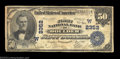 National Bank Notes:Colorado, Boulder, CO - $50 1902 Plain Back Fr. 682 The First NB ...