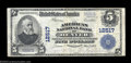 National Bank Notes:Colorado, Denver, CO - $5 1902 Plain Back Fr. 609 The American NB