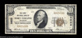 National Bank Notes:Colorado, Fort Collins, CO - $10 1929 Ty. 1 The First NB Ch. # ...