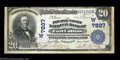 National Bank Notes:Colorado, Fort Collins, CO - $20 1902 Plain Back Fr. 650 The ...