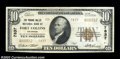 National Bank Notes:Colorado, A Type 2 Pair from Fort Collins, Colorado