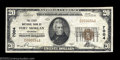 National Bank Notes:Colorado, Fort Morgan, CO - $20 1929 Ty. 1 The First NB Ch. # ...