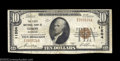 National Bank Notes:Colorado, Limon, CO - $10 1929 Ty. 1 The First NB Ch. # 11504