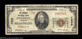 National Bank Notes:Colorado, Longmont, CO - $20 1929 Ty. 1 The Longmont NB Ch. # ...