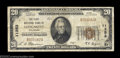 National Bank Notes:Colorado, Longmont, CO - $20 1929 Ty. 1 The First NB Ch. # 11253