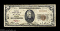 National Bank Notes:Colorado, Mancos, CO - $20 1929 Ty. 1 The First NB Ch. # 9674