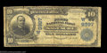 National Bank Notes:Colorado, Saguache, CO - $10 1902 Date Back Fr. 619 The First NB ...