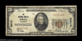 National Bank Notes:Colorado, Wray, CO - $20 1929 Ty. 1 The NB of Wray Ch. # 9676