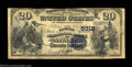National Bank Notes:Georgia, Atlanta, GA - $20 1882 Value Back Fr. 581 The Lowry NB ...