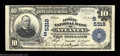 National Bank Notes:Georgia, Atlanta, GA - $10 1902 Plain Back Fr. 633 The Lowry NB ...