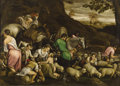 Old Master:Italian, JACOPO DA PONTE, CALLED JACOPO BASSANO (Bassano del Grappa circa1510-1592). The Journey (Jacob's Rest), circa 1560-1570...