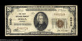 National Bank Notes:Georgia, Ocilla, GA - $20 1929 Ty. 1 The First NB Ch. # 8580