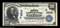 National Bank Notes:Georgia, Vienna, GA - $20 1902 Date Back Fr. 645 The First NB ...