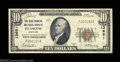 National Bank Notes:Kentucky, Glasgow, KY - $10 1929 Ty. 1 The New Farmers NB Ch. # ...