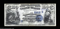 National Bank Notes:Kentucky, Louisville, KY - $100 1882 Date Back Fr. 571 The NB of ...
