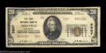 National Bank Notes:Louisiana, Abbeville, LA - $20 1929 Ty. 2 The First NB Ch. # 5807