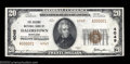 National Bank Notes:Maryland, Hagerstown, MD - $20 1929 Ty. 2 The Second NB Ch. # ...