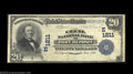 National Bank Notes:Maryland, Port Deposit, MD - $20 1902 Date Back Fr. 642 The Cecil ...