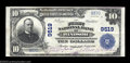 National Bank Notes:Missouri, Windsor, MO - $10 1902 Plain Back Fr. 626 The First NB ...