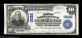 National Bank Notes:Montana, Great Falls, MT - $10 1902 Plain Back Fr. 626 The First ...