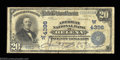 National Bank Notes:Montana, Helena, MT - $20 1902 Date Back Fr. 645 The American NB