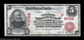 National Bank Notes:Oregon, Baker City, OR - $5 1902 Red Seal Fr. 587 The Citizens ...
