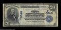 National Bank Notes:Oregon, Coquille, OR - $20 1902 Date Back Fr. 642 The First NB ...