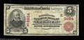 National Bank Notes:Pennsylvania, Chester, PA - $5 1902 Red Seal Fr. 587 The Pennsylvania ...
