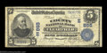 National Bank Notes:Pennsylvania, Clearfield, PA - $5 1902 Plain Back Fr. 598 The County ...