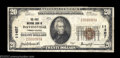 National Bank Notes:Pennsylvania, Davidsville, PA - $20 1929 Ty. 1 The First NB Ch. # ...