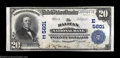 National Bank Notes:Pennsylvania, Halifax, PA - $20 1902 Plain Back Fr. 659 The Halifax NB