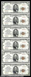 National Bank Notes:Pennsylvania, Huntingdon, PA - $5 1929 Ty. 2 The First NB Ch. # 31 ...