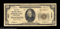 National Bank Notes:Pennsylvania, North East, PA - $20 1929 Ty. 1 The First NB Ch. # ...