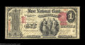 National Bank Notes:Pennsylvania, Birmingham, PA - $1 1875 Fr. 383 The First NB Ch. # ...