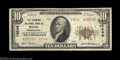 National Bank Notes:Pennsylvania, Rome, PA - $10 1929 Ty. 2 The Farmers NB Ch. # 10246