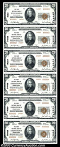 National Bank Notes:Pennsylvania, Stoystown, PA - $20 1929 Ty. 2 The First NB Ch. # ...