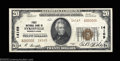 National Bank Notes:Pennsylvania, Sykesville, PA - $20 1929 Ty. 2 First NB Ch. # 14169