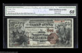 National Bank Notes:Pennsylvania, Washington, PA - $50 1882 Brown Back Fr. 508 The First ...
