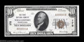National Bank Notes:Pennsylvania, Williamsport, PA - $10 1929 Ty. 1 The First NB Ch. # ...