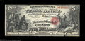 National Bank Notes:South Carolina, Chester, SC - $5 Original Fr. 399 The NB of Chester Ch....