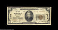 National Bank Notes:Virginia, Bassett, VA - $20 1929 Ty. 2 The First NB Ch. # 11976