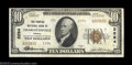 National Bank Notes:Virginia, Charlottesville, VA - $10 1929 Ty. 2 The Peoples NB ...