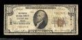 National Bank Notes:Virginia, Leesburg, VA - $10 1929 Ty. 1 The Peoples NB Ch. # ...
